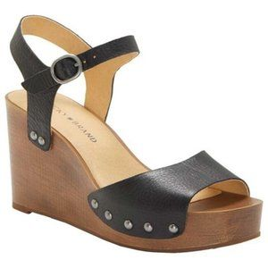 Lucky Brand Women's shoes 9.5 Wedge leather